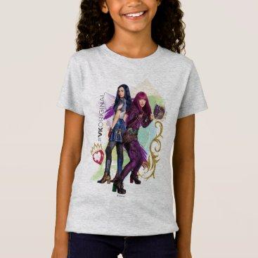 Valentines Themed Descendants | Mal & Evie | #VK Original T-Shirt