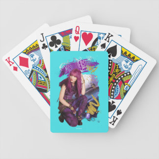 Descendants | Mal | Misunderstood Bicycle Playing Cards