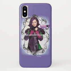 Case-Mate Barely There Apple iPhone XS Case with Descendants Mal: Misunderstood design