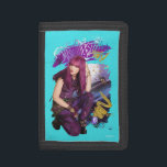 """Descendants   Mal   Misunderstood Trifold Wallet<br><div class=""""desc"""">Meet Mal. A modern day villain from the twisted fairytale movie series, Descendants. Mal is a young, ruthless mean girl who loves brewing up evil plans. Although she strives to become pure evil she is also girly, compassionate and even caring at times. Mal is a complex character with a lot...</div>"""