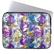 Descendants | Mal | Two-Headed Dragon Pattern Laptop Sleeve