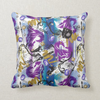 Descendants | Mal | Two-Headed Dragon Pattern Throw Pillow