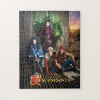Descendants Movie Poster Jigsaw Puzzle