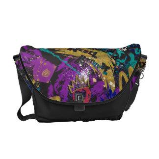 Descendants | Rebel Attitude Pattern Courier Bag