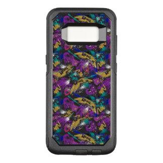 Descendants | Rebel Attitude Pattern OtterBox Commuter Samsung Galaxy S8 Case