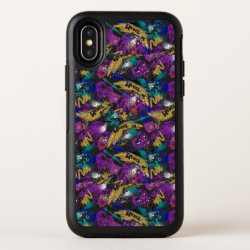 Descendants | Rebel Attitude Pattern OtterBox Symmetry iPhone X Case