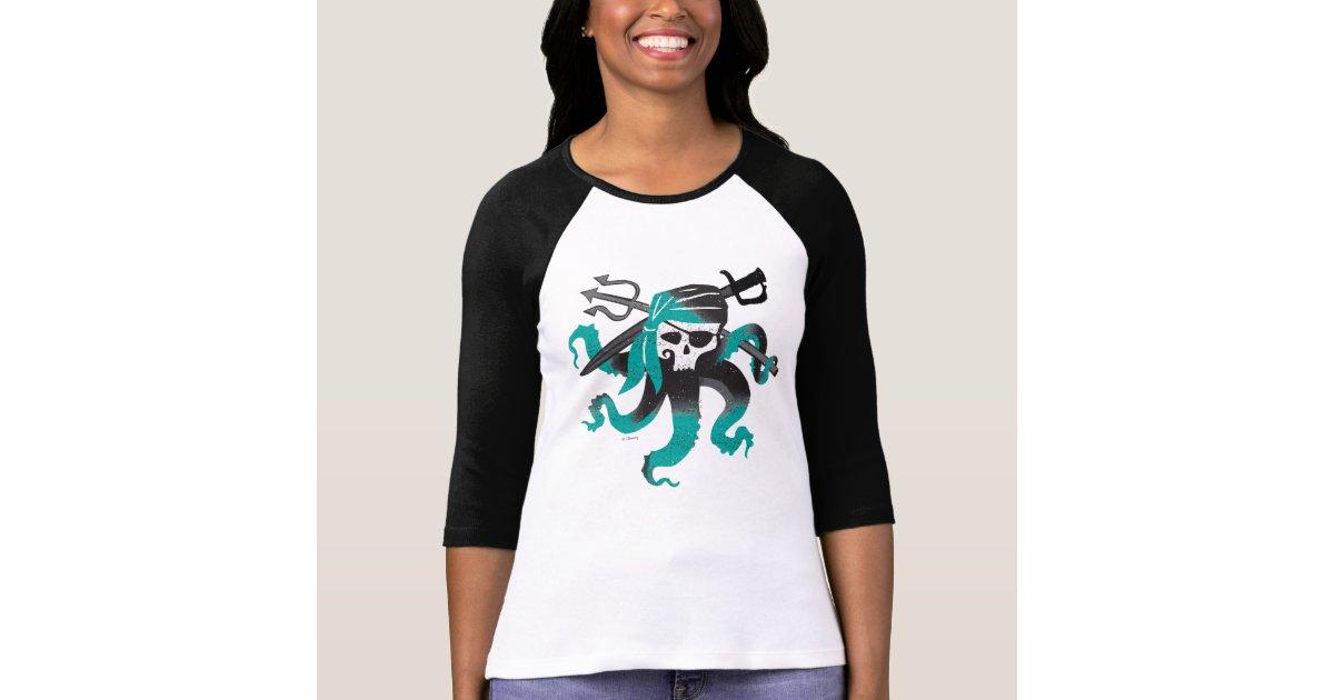 Descendants | Uma | Pirate Skull Logo T-Shirt | Zazzle.com
