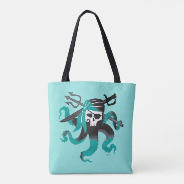 Disney Themed Descendants | Uma | Pirate Skull Logo Tote Bag