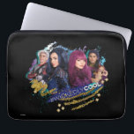 "Descendants | Wickedly Cool Best Friends Computer Sleeve<br><div class=""desc"">Mal, Evie, Carlos and Jay are back in this colorful design inspired by the enchanting teen fantasy drama, Descendants 2. The villainous foursome embark upon a royal adventure in the exhilarating sequel. The four best friends strike a defiant pose in this wickedly cool design. Kids, adults and lovers of fairytales...</div>"