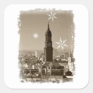 descended michaelis kirche, Hamburg, weihnachten