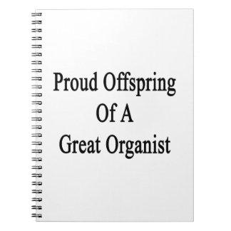 Descendiente orgulloso de un gran organista notebook
