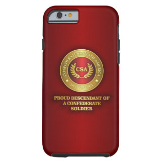 Descendiente orgulloso funda resistente iPhone 6