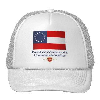 Descendiente orgulloso gorras de camionero
