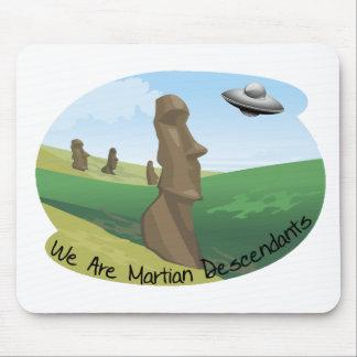 Descendientes marcianos alfombrilla de raton