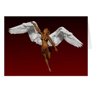 DESCENDING ANGEL CARD