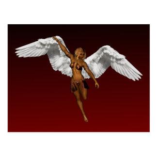 DESCENDING ANGEL POSTCARD