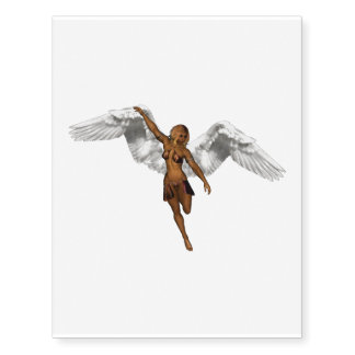 DESCENDING ANGEL v3 isolated.png Temporary Tattoos