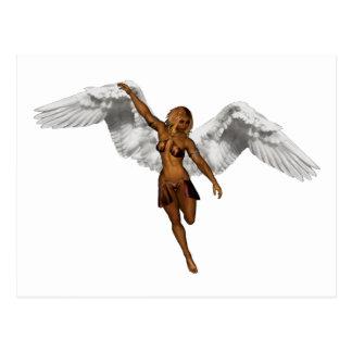 DESCENDING ANGEL v3 Postcard