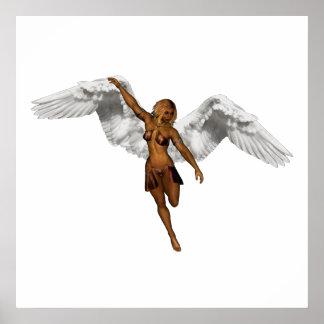 DESCENDING ANGEL v3 Poster