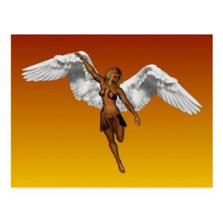 DESCENDING ANGEL v.2 ~ Postcard