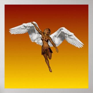 DESCENDING ANGEL v.2 ~ Poster