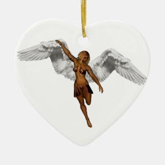 DESCENDING ANGEL v.3 ~ Christmas Ornament