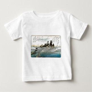 Descending Geese at Haneda, c. 1837-38. JAPAN. Baby T-Shirt