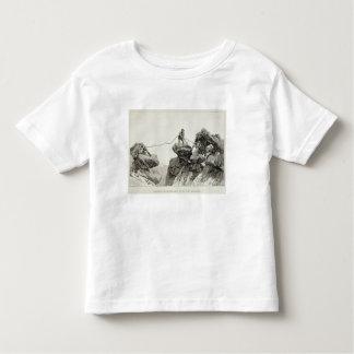 Descending the Western Arete of the Pointe des Ecr Toddler T-shirt
