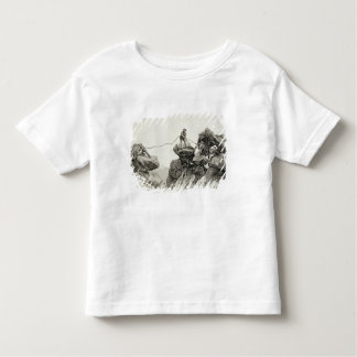 Descending the Western Arete of the Pointe des Ecr Toddler T-shirt