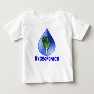 Descenso azul del lema del hidrocultivo con el camisas