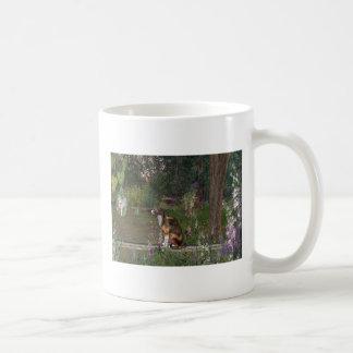 Descenso de rocío de hadas tazas de café