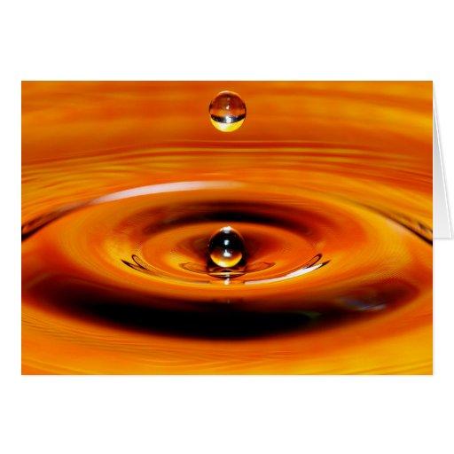 Descenso del agua - descenso 1 del oro felicitaciones