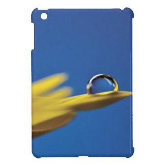 Descenso del agua en la flor iPad mini fundas