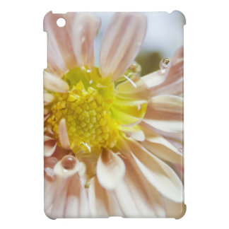 Descenso delicado de la flor y del agua del meloco iPad mini protectores