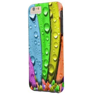 Descensos 2 del agua funda de iPhone 6 plus tough