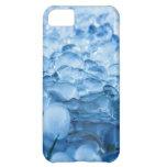 Descensos abstractos azules del agua de los crista