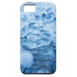 Descensos abstractos azules del agua de los crista iPhone 5 protector