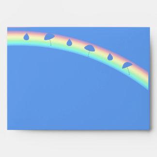 Descensos azules del paraguas de la fiesta de bien