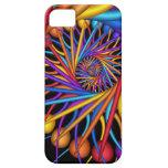 Descensos de rocío coloreados, caso abstracto del  iPhone 5 funda