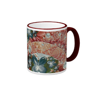 Descensos de rocío taza de café