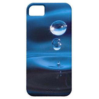Descensos del agua azul iPhone 5 carcasas