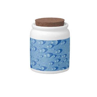Descensos del agua jarra para caramelo