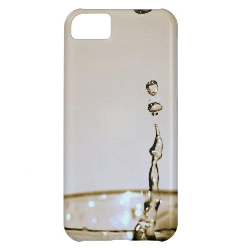 Descensos del agua funda para iPhone 5C