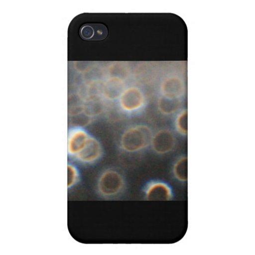 Descensos del agua iPhone 4 carcasas