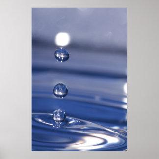 Descensos del agua poster