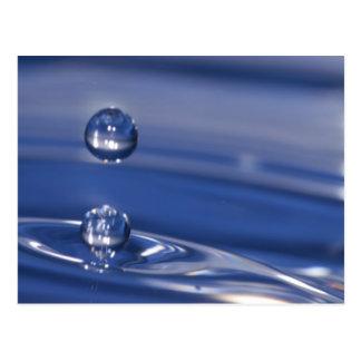Descensos del agua postales