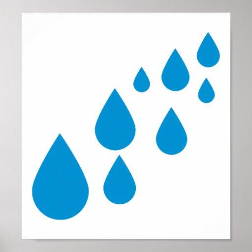 Descensos del agua posters