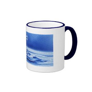 Descensos del agua taza