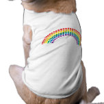 Descensos del arco iris camisas de mascota