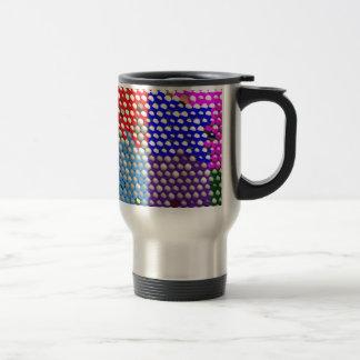 DESCENSOS DEL ARCO IRIS: Modelos de punto colorido Taza De Café